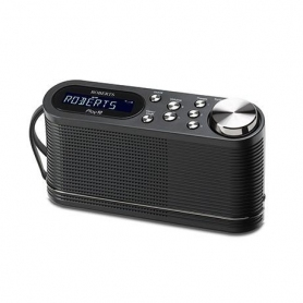 Roberts Play 10 DAB/DAB+/FM Portable Radio - Black